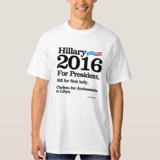 Bill para la primera señora - Chelsea para el Camisas