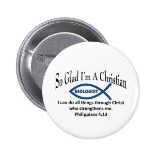 Bilogist cristiano chapa redonda 5 cm