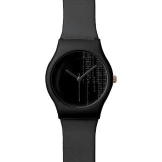 Binario de conexión en cascada reloj de pulsera