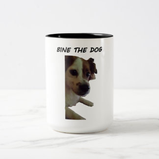 Bine la taza del perro
