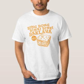 Bing Bong el Baklava 90s divertido TV de Binki Camiseta