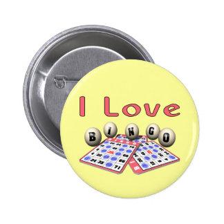 Bingo: Amo bingo Chapa Redonda De 5 Cm