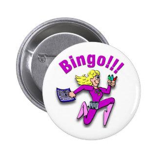 ¡Bingo!!! Chapa Redonda 5 Cm