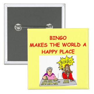 bingo chapa cuadrada