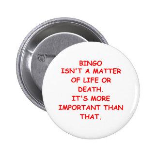 bingo chapa redonda de 5 cm