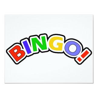Bingo Invitación