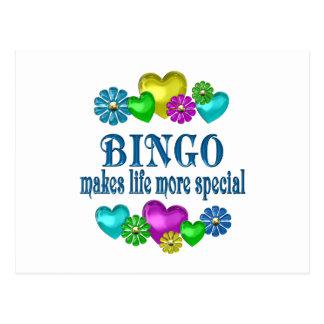 Bingo más especial postal