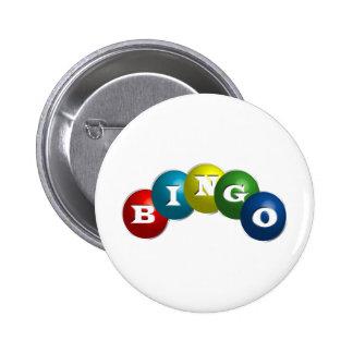 Bingo o loteria - opción para personalizar su engr chapa redonda 5 cm