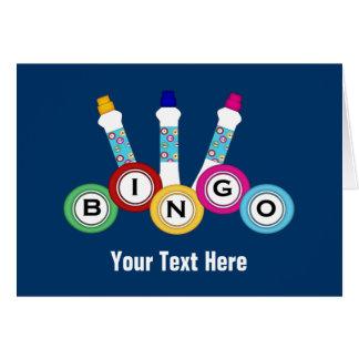 Bingo (personalizable) tarjeta de felicitación