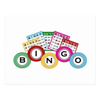 Bingo Tarjetas Postales