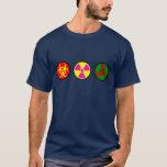 Bio, arma nuclear, chem camiseta