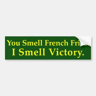 Biodiesel: Usted huele las patatas fritas. Huelo l Pegatina Para Coche