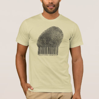 biométrico-huella dactilar camiseta