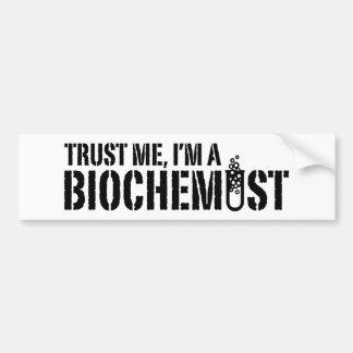 Bioquímico Etiqueta De Parachoque