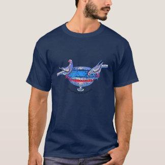Birdbath bizantino camiseta