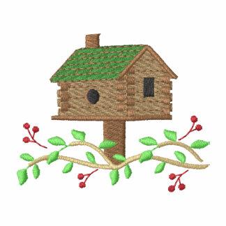 Birdhouse de la cabaña de madera
