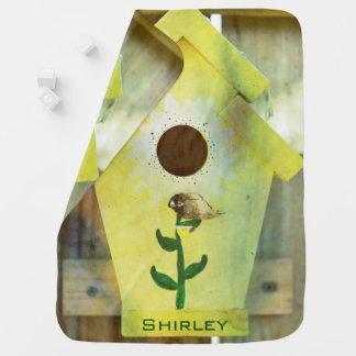 Birdhouse de Shirley Taylor Mantita Para Bebé