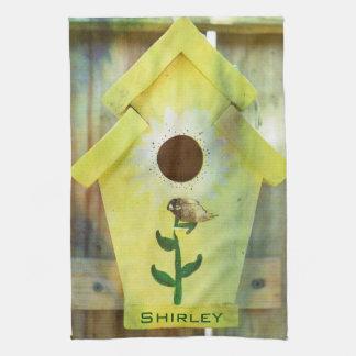 Birdhouse de Shirley Taylor Paño De Cocina