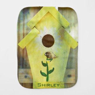 Birdhouse de Shirley Taylor Paño Para Bebés