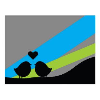 Birds - Postcard Postal