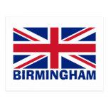 Birmingham en azul postales