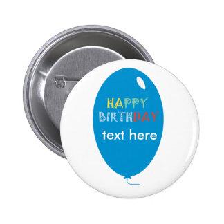 birthday ai feliz pin