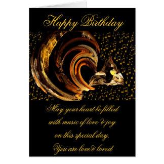 Birthday_Card feliz Tarjeta Pequeña