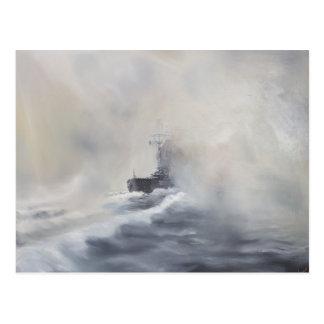 Bismarck evade el su los persuers 25 de mayo de postal