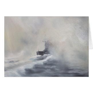 Bismarck evade el su los persuers 25 de mayo de tarjeta de felicitación