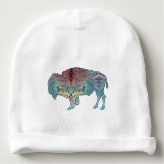 Bisonte/búfalo Gorrito Para Bebe