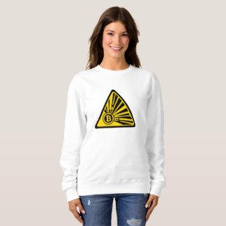 Bitcoin - la camiseta básica de las mujeres