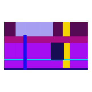 Bizancio violeta mínimo tarjetas de visita