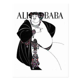 Bizcocho borracho de Nouveu Ali de Aurbrey Postal