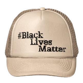 #BlackLivesMatter Gorros Bordados