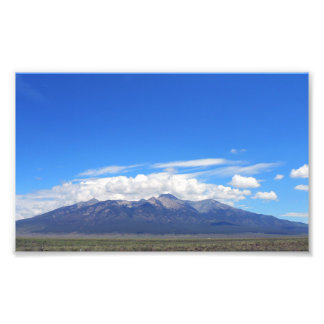 Blanca del soporte, Colorado Foto