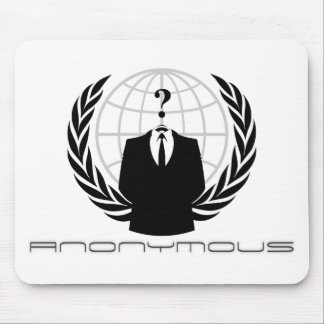 Blanco anónimo de Mousepad Tapete De Raton