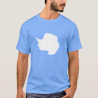 Blanco azul de la bandera de Graham Bartram la Camiseta