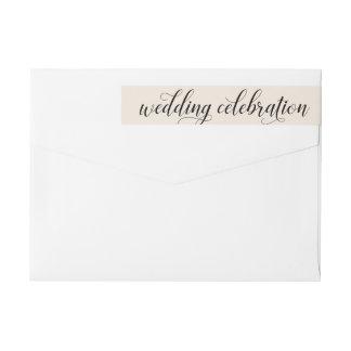 Blanco caliente de la celebración el | del boda
