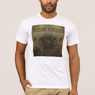 Blanco de Circo Gitano Camiseta