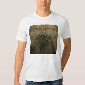 Blanco de Circo Gitano Camisetas