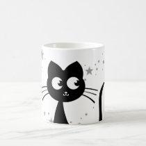 Blanco de Kuro del gatito Taza Mágica