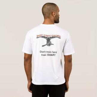 Blanco de la camiseta de los hombres -