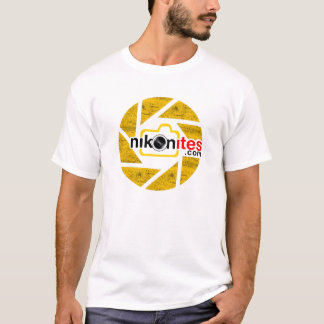 Blanco de la cuchilla de la abertura de Nikonites Camiseta