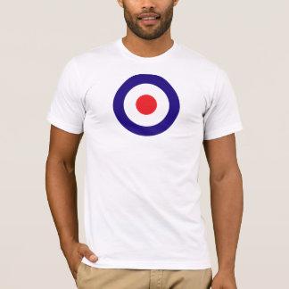 Blanco de la MOD Camiseta