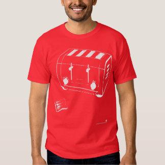 blanco de la tostadora camisas