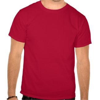 blanco de la tostadora camisetas