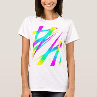 Blanco de los puntos CYMK Camiseta