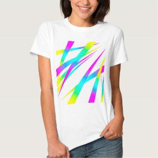 Blanco de los puntos CYMK Camisetas
