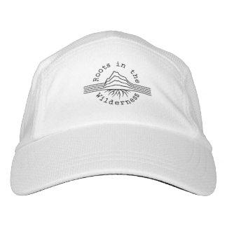 Blanco de punto del gorra del funcionamiento del
