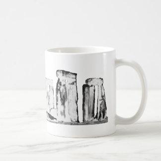 Blanco de Stonehenge los regalos de Zazzle del Taza De Café